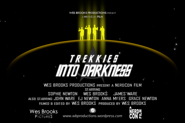 Trekkies Into Darkness Supplemental Wide Teaser Poster promotional