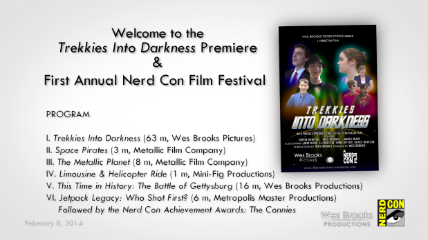 Premeire and Film Festival slide