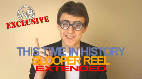 This Time in History - The Battle of Gettysburg Extended Blooper Reel thumbnail
