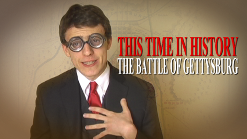 This Time in History - The Battle of Gettysburg thumbnail