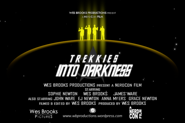 Trekkies Into Darkness Supplemental Wide Teaser Poster promotional halfsize