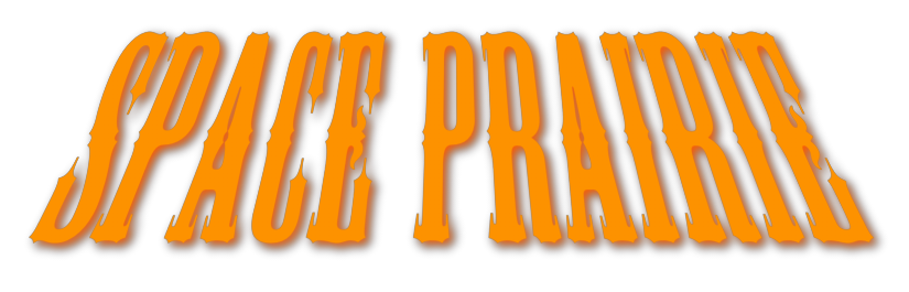 Space Prairie logo banner